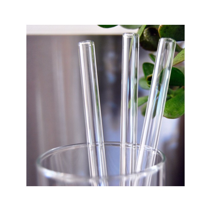 Glass And Straw