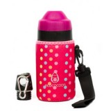Ecococoon Cuddler 350ml pink spotty bottle cover