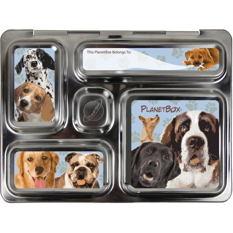 PlanetBox Rover Kit DOGGIES (Box, Containers, Magnets)