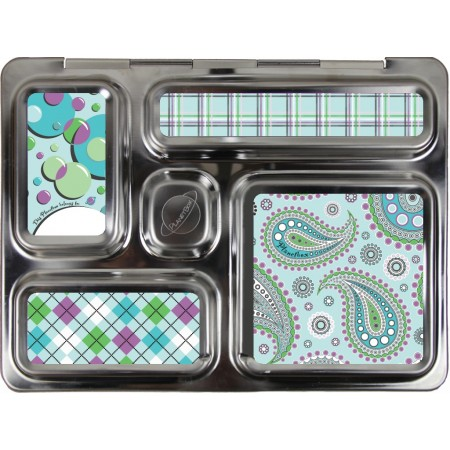PlanetBox Rover complete kit - paisley and plaid