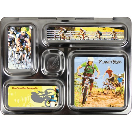 PlanetBox Rover Kit BICYCLES (Box, Containers, Magnets)