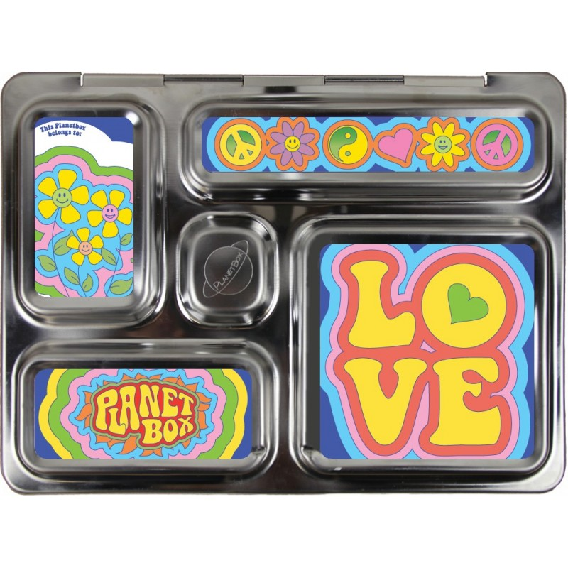 PlanetBox Rover Kit GROOVY (Box, Containers, Magnets)