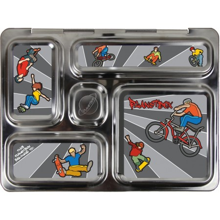 PlanetBox Rover Kit WHEELIES (Box, Containers, Magnets, Carry Bag)