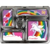 PlanetBox Rover Kit RAINBOW UNICORN (Box, Containers, Magnets, Carry Bag) ADVANCE