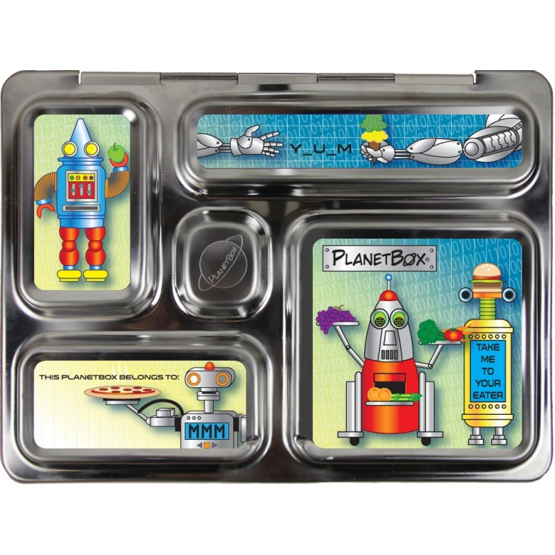 PlanetBox Rover Kit ROBOTS (Box, Containers, Magnets)