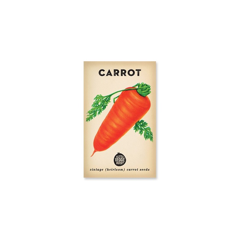 Heirloom seeds - carrot baby amsterdam