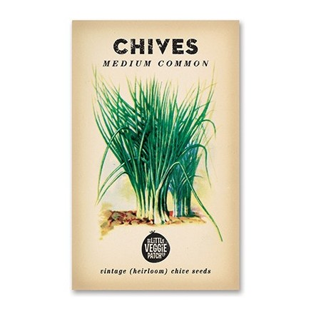 Heirloom seeds - chives medium common