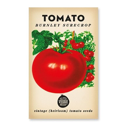 Heirloom seeds - tomato burnley surecrop