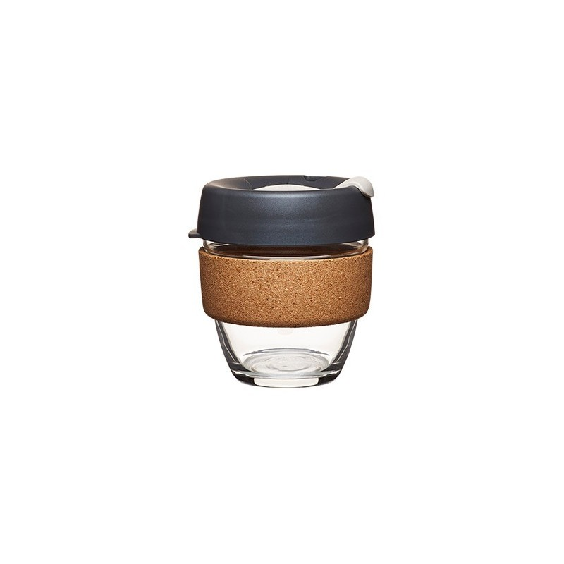 bfdfe5a5ad92 Keep Cup Brew limited edition is a tempered glass reusable coffee cup with  a cork band that is beautiful to hold, antibacterial and insulates your  hand from ...