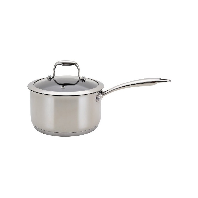 Neoflam 20cm Non Stick Sauce Pan Stainless Steel With