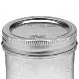 Ball mason canning lid with band - wide mouth (1)