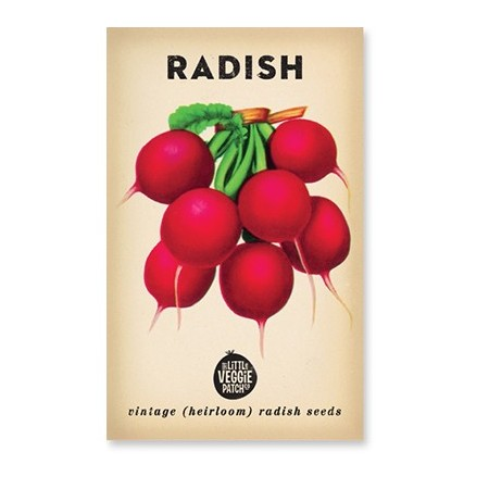 Heirloom seeds - radish cherry belle