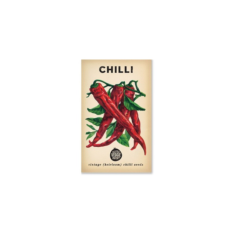Heirloom seeds - chilli cayenne