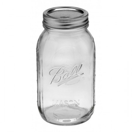 Ball mason jar Quart 950ml regular mouth
