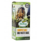 BioBag biodegradable dog waste bags (40) boxed
