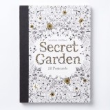 Secret Garden: 20 postcards book