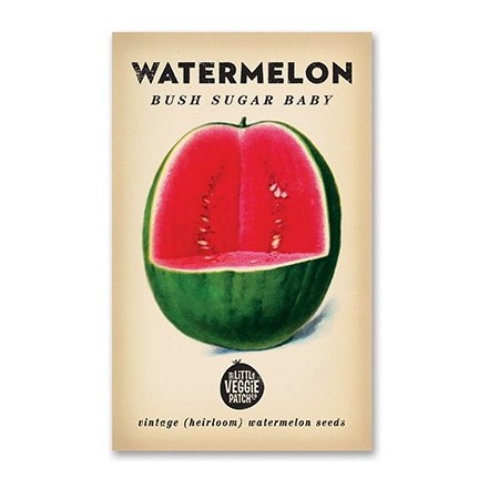 Heirloom seeds - watermelon bush sugar baby
