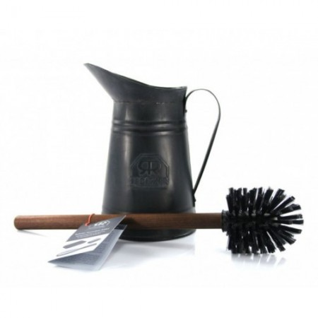 Redecker Thermowood Toilet Brush Set With Jug - Biome Eco Stores