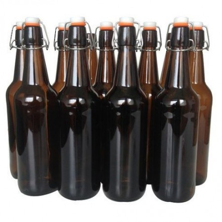 Mangrove Jack's Brewing Co. Flip Top Glass Bottles 750ml - Case of 12