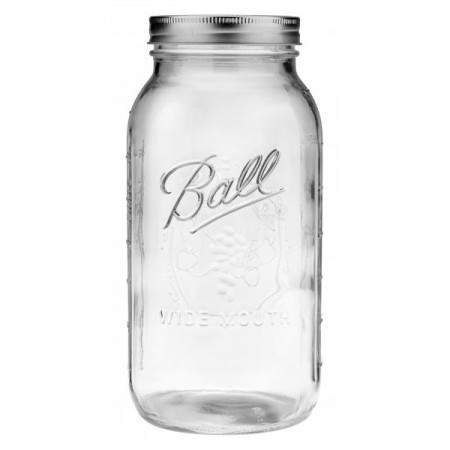 Ball mason jar Half Gallon 2L wide mouth