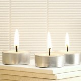 Queen B beeswax candle - 4 hour tealight (single)