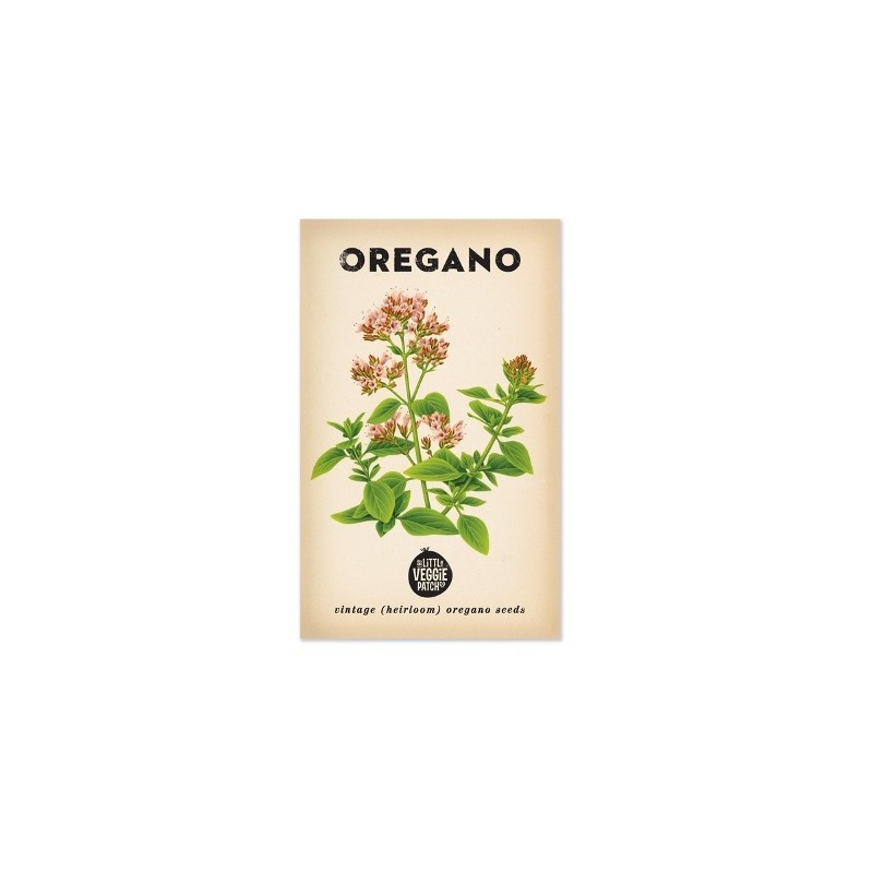 Heirloom seeds - oregano