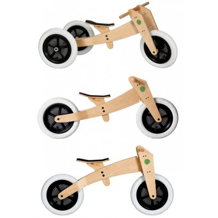 Wishbone bike 3-in-1 - natural