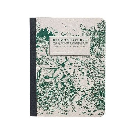 Decomposition lined journal- spirit animal