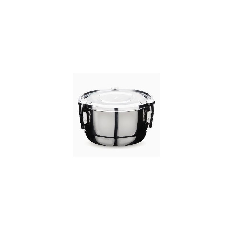 Onyx stainless steel airtight round container 8cm 140ml