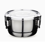 Onyx stainless steel airtight round container 10cm 350ml