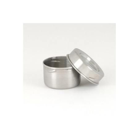 Onyx stainless steel airtight leak proof container 45ml dip size
