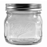 Ball mason jar Pint 475ml wide mouth elite collection