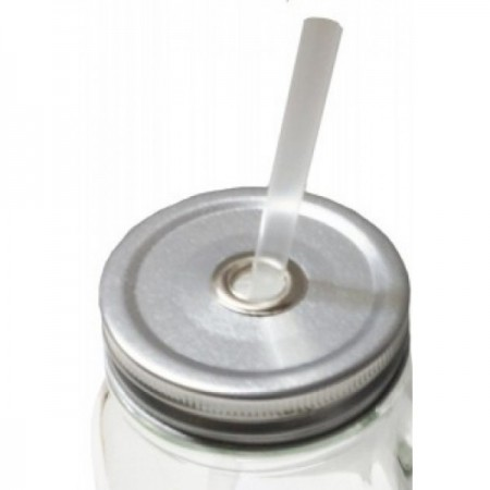 Ball Mason stainless steel straw drinking lid wide mouth