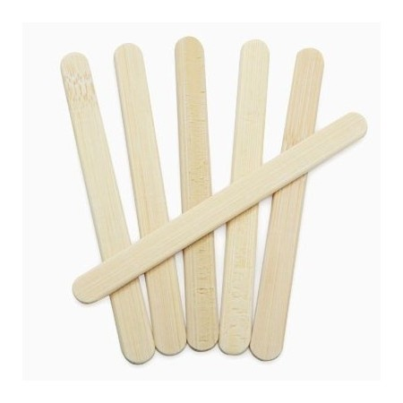 Reusable bamboo ice block paddle pop sticks Onyx (24)