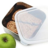 U Konserve To-Go Square Container 30oz 887ml Medium Clear Lid