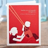 PG Mothers Day card - familiar acts are beautiful...