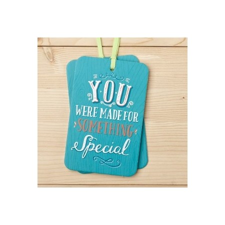Gift tag card - you were made for something special