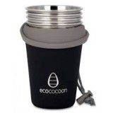 Ecococoon cup cuddler cover - black