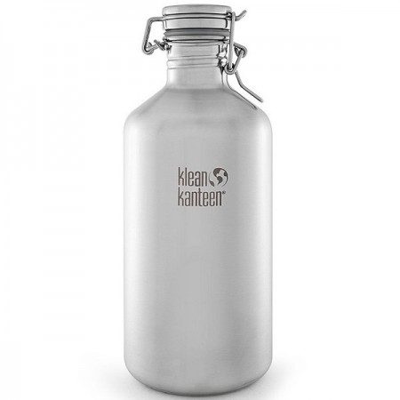 Klean Kanteen Growler 64oz 1.9L - Brushed Stainless