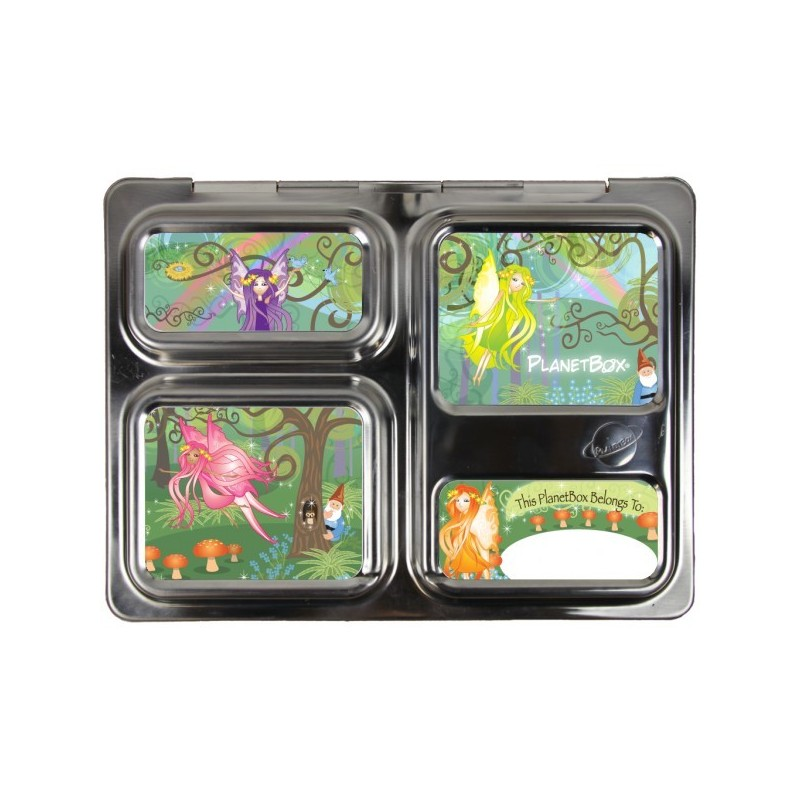 Planetbox Launch Kit WOODLAND FAIRIES (Box, Dipper, Magnets)