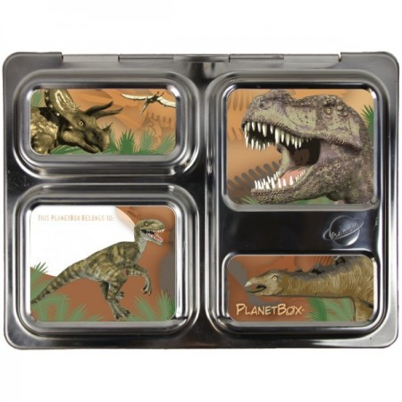 Planetbox Launch Kit VELOCIRAPTOR (Box, Dipper, Magnets)