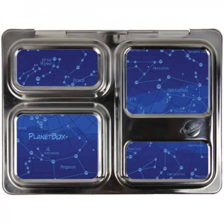 Planetbox Launch Kit STAR MAP (Box, Dipper, Magnets, Carry Bag)
