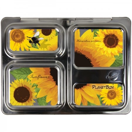 Planetbox Launch Kit SUNFLOWER (Box, Dipper, Magnets, Carry Bag)