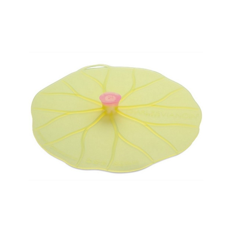 Lilypad silicone reusable food cover round Large 28cm 11in