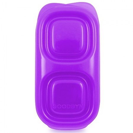 Goodbyn snacks container 236ml - purple