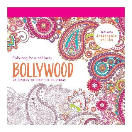 Bollywood: colouring for mindfulness LAST CHANCE!