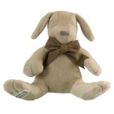 Maud n Lil organic cotton toy - paws grey