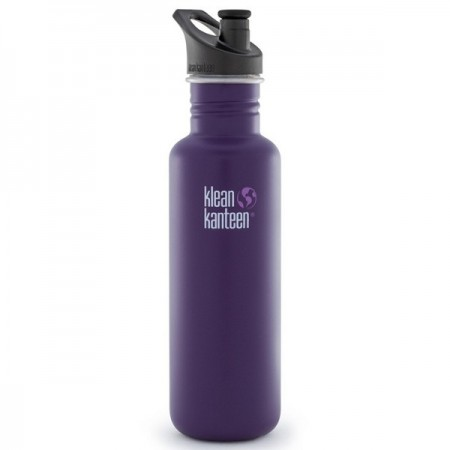 Klean Kanteen classic 27oz 800ml Stainless Steel Water Bottle - berry syrup