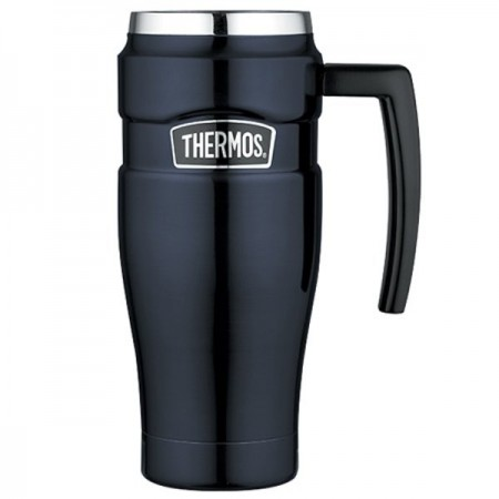 Thermos King insulated travel mug 470ml - midnight blue