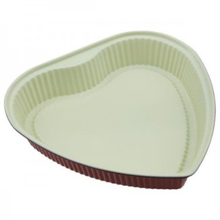 Neoflam ceramic non-stick cake pan - heart